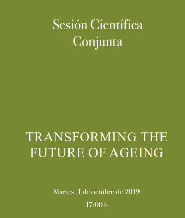 "<p>Sesión Científica Conjunta: ""Transforming the future of aging""</p>"